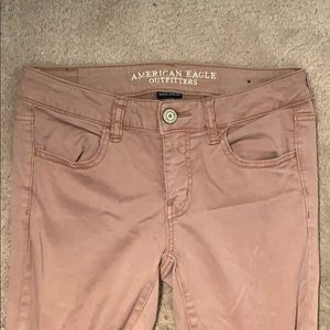 American Eagle Light Pink Size 4 Jeans